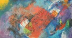 Sonhos I (Dreams I), 2014 Acrílico sobre tela (80 X 150 cm)